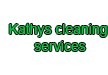 Kathys cleaning services