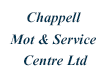 Chappell MOT and Service Centre Ltd
